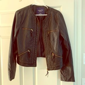 American Eagle Outfitters leather jacket